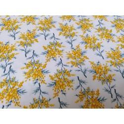 Algodón mimosas amarillo