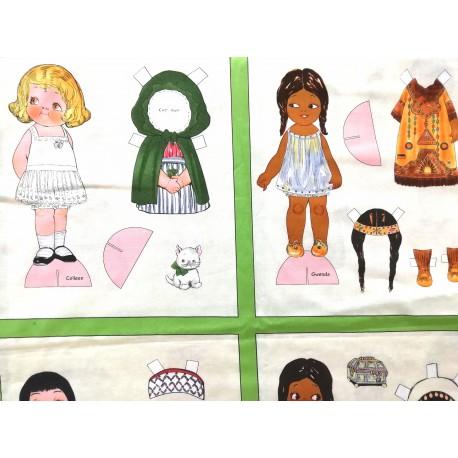 Paper dolls cuadro