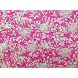 Viyela nidos en rosa fucsia