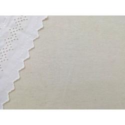 Franela beige clarito jaspeada