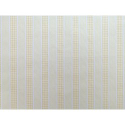 Canutillo amarillo con raya formando cuadros