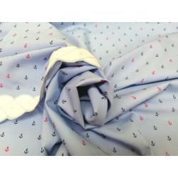 Tela de  algodón con motivos marineros I